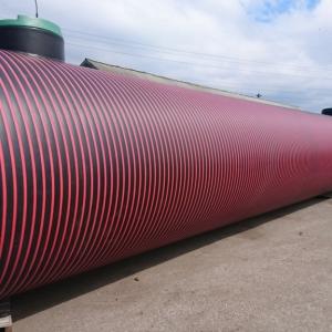 Пожарный резервуар для воды из полиэтилена
