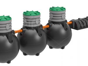Септик 3 камеры отстойник TOR-4500 / 6-7 человек