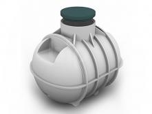 Емкость для канализации 1400л С1400