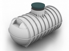 Емкость для канализации 3000л С3000