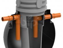 Септик двухкамерный TOR 1500/2-3 чел с фильтром R-TUB