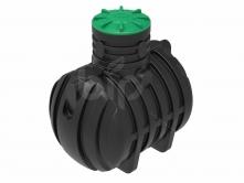 Емкость канализационная Rodlex 3000 с горловиной 500 и крышкой
