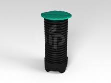 Дренажный колодец  ECO D 390 мм высотой 2500 мм приемный