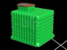 Погреб пластиковый для дачи Tortila 3.0 Нет аналогов!