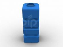 Пластиковый бак 1000л ПВ1000Д