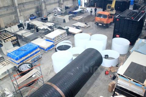 Производственный цех по изготовлению емкостей и резервуаров Bip Group