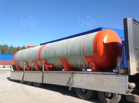 Пожарная буферная емкость для технической воды из стеклопластика Bip Tank