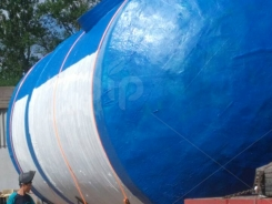 Резервуар пожарный из стеклопластика подземный