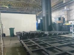 Производство прямоугольных резервуаров для воды в каркасах