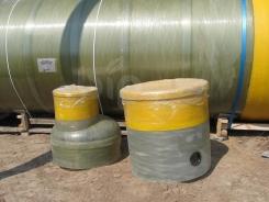 Колодцы обслуживания для химстойкого резервуара