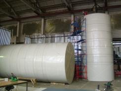 Резервуары из полипропилена вертикальные для кислот
