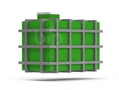Химстойкие резервуары в металлическом каркасе