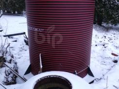 Вертикальный пожарный резервуар пластиковый