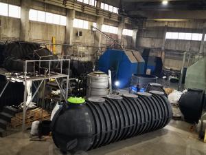 Резервуар  пожарный для воды 40000 литров (40 кубов) из полиэтилена