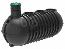 Емкость для канализации 20м3-20000л с горловиной Н500мм.