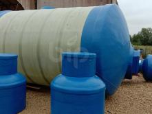 Пожарная емкость для воды из стеклопластика BipTank EN-PR20N (20м3)наземная