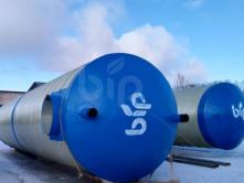 Пожарные емкости для воды из стеклопластика BipTank EN-PR40 (40м3) подземные