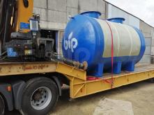 Резервуар стеклопластиковый Bip ST-EN-25N наземный.