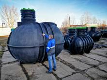 Пожарная емкость пластиковая Modul Tank10N(10м3) наземная