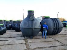 Емкость пожарная пластиковая ModulTank 15N литров (15м3) наземная