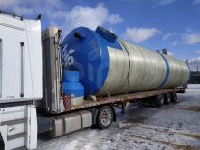 Пожарный резервуар 35м3 EN-ST (35000 литров)  из стеклопластика