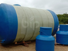 Пожарная емкость для воды из стеклопластика BipTank EN-PR30 (30м3) подземная