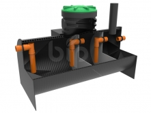 Трехкамерный септик BIO-SO-3