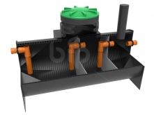 Трехкамерный септик BIO-SO-5