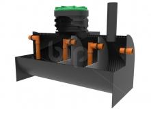 Трехкамерный септик BIO-SO-10