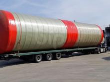 Пожарный резервуар для воды 200м3 из стеклопластика 200000 литров