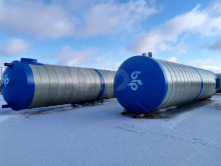 Резервуар пожарный из стеклопластика 120 куб.м.