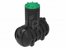 Емкость для канализации S2000 объемом 2000л. с горловиной Н1000мм.