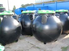 Емкость канализационная 1500 литров с крышкой.