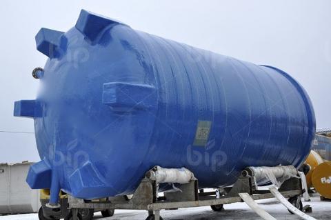 Наземная накопительная емкость из стеклопластика для чистой воды Bip Tank 30 000 л