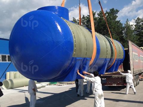 Пищевой подземный резервуар для питьевой воды Bip Tank