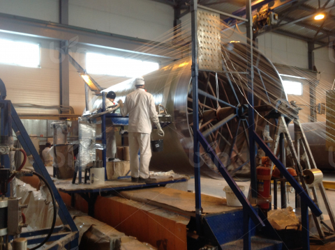 Производство резервуаров из стеклопластика Bip Tank