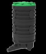 Колодец канализационный пластиковый сборного типа цельнолитой