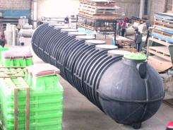 Горизонтальный резервуар для воды 50м3 (50000 литров)