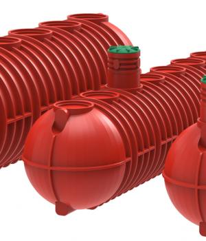 Пожарные емкости горизонтальные для воды BipTank